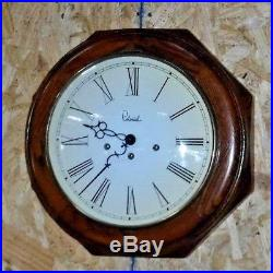 Colonial Molyneux U. S. Wall / Gallery Westminster Chime Clock 8 Day Working +key