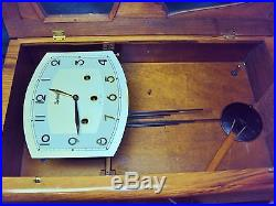 DECO REGULADORA WALL CLOCK WESTMINSTER CHIME REGULATOR PORTUGAL no. 333/20