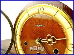DUGENA WESTMINSTER chiming antique german mantel clock art deco Junghans, Hermle