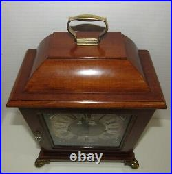 Dutch Warmink Quarter Hour Westminster Chime Bracket Clock 8-day, Key-wind