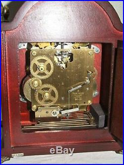 DutchSt. JamesWestminster, Franz Hermle, 8 day, table/bracket clock, Moonphase