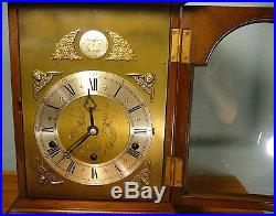 ELLIOTT Three Train Mantel/Bracket Westminster & Whittington Chimes Clock