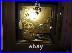 Elgin Quarter Hour Westminster Chime Bracket Clock made in Germany 8-day