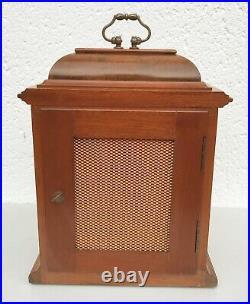 Elliott Burr Walnut Westminster, Whittington Chiming Mantle Clock