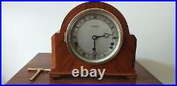 Elliott Mantel clock With Westminster Chimes And Warrington In Superb condition