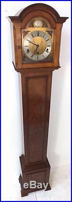 Elliott of London Musical Grandmother clock Westminster chiming Longcase Clock