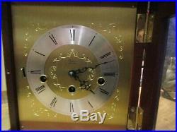 Emil Schmeckenbecher Bracket Westminster Chiming clock 8 day Winding. VVGC