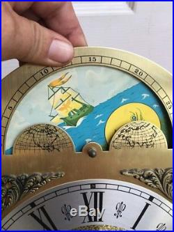 Emperor Grandfather Clock Westminster Chime Movement, Moon Phase Dial & Hands