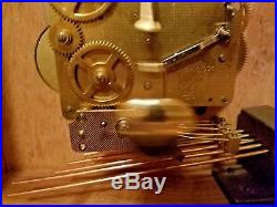 Emperor Westminster Chime Mantle Carriage Clock WithMoon Dial #341-020
