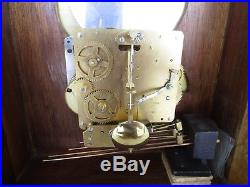 Emperor Westminster Franz Herme Chime Mantle Carriage Clock WithMoon DialWITH KEY