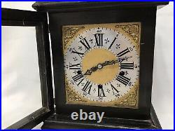 Enfield Brass Mount Westminster Chime Bracket Clock