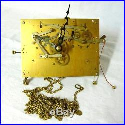 Erhard & Jauch Emperor 8-Day Westminster Chime Weight Grandfather Clock Movement
