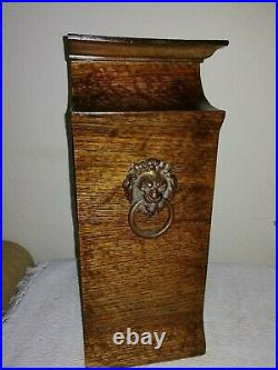 Excellent Quality, Westminster Chimes Bracket Clock in Solid Oak Case. Working