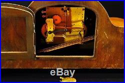Exceptional 1930` Junghans Mantel Clock Westminster Chime Superb Chime