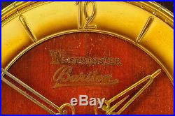 Exceptional 1935` Urgos Mantel Clock Westminster Chime Superb Chime