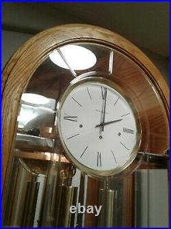 Exceptional Howard Miller Oak 8-Day Floor Clock