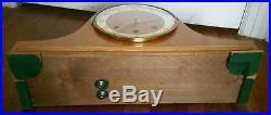 Exceptional Large Vintage Art Deco Forestville Westminster Chime Mantel Clock
