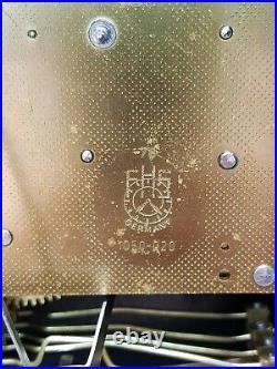 FRANZ HERMLE TRIPLE CHIME BRACKET CLOCK Westminster Whittington St Michael