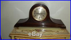 FULLY & PROPERLY RESTORED SETH THOMAS No. 91 WESTMINSTER CHIME MANTEL CLOCK