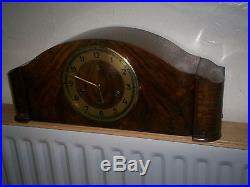 Fabulous Art Deco Mantle Clock, with Westminster chime