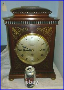 Fantastic 19th Century Triple Fusee Westminster Chime J W Benson Bracket Clock