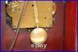 Fine Antique Gustav Becker Westminster Chime Bracket clock
