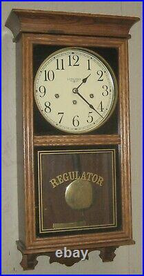 Fine Longines Westminster Chime Wall Clock Regulator Working 8 Day Hermle