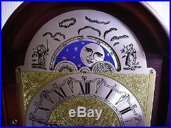 Franz Hermle Moon Phase Bracket/Mantel Clock, Westminster Chime, Reqires TLC