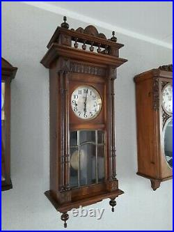 French Japy Freres Westminster chime wall clock (0357)