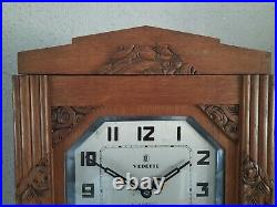 French Vedette Westminster chime wall clock NOT Odo (0351)