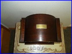 Fully Restored Kienzle Westminster Chime Bracket Clock With Barley Twist Columns