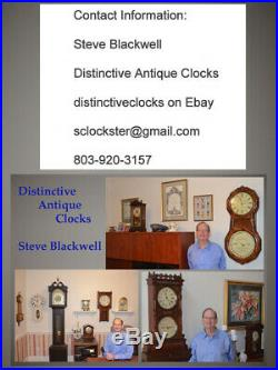 Fully Restored Seth Thomas Grand Antique Westminster Chime Clock No. 72-1928