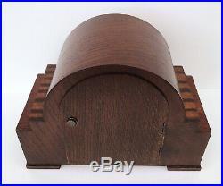 Garrard Oak & Zabrano Westminster Chiming Mantle Clock Superb