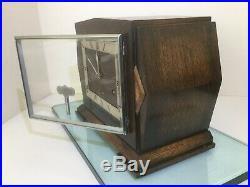 Garrard Westminster Chiming Mantel Clock Fully Serviced With Original Key