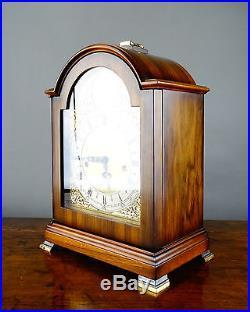 Georgian Style Bracket Mantel Clock by St James Franz Hermle Westminster Chiming