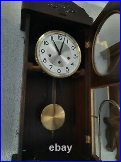 German Ave Maria and Westminster chime wall clock (0350)