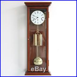 German HERMLE WALL CLOCK Design TOP RANGE! TRANSLUCENT WESTMINSTER Chime Weights