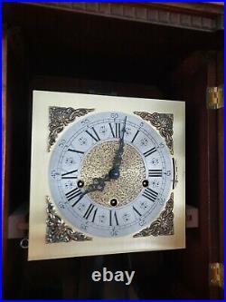 German Hermle triple chime -Westminster, St. Michael, Whittington clock (0375)