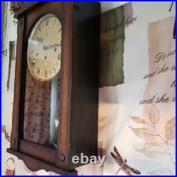 German Schmeckenbecher Westminster Chime Wall Clock
