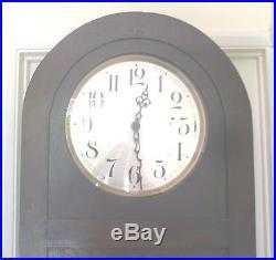 German Urgos Oak 3 Weights Driven Westminster Chimes Grandfather Clock GWOi