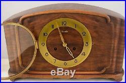 Gorgeous Vintage Kienzle Art Deco Westminster Chime Mantel Shelf Clock Working