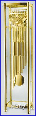 Grandfather Floor Clock 9 TUBES BRASS TUBES EXCLUSIVE