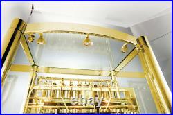 Grandfather Floor Clock 9 TUBES BRASS TUBES EXCLUSIVE