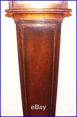 Grandmother clock oak cased westminster chimes 8 day mechanical movement superb
