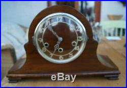 Gufa (Schatz) triple chime mantel clock. Westminster/Whitt/St. Michaels SEE VIDEO