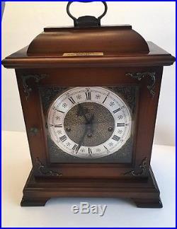 HAMILTON VINTAGE16th CENTURY ENGLISH STYLE WESTMINSTER CHIME 8 DAY BRACKET CLOCK