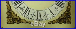 HERMLE 3 weight Westminster chime wall clock German oak wood TOP CONDITION
