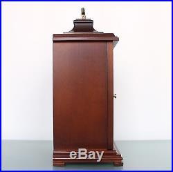 HERMLE CLOCK Mantel MOONPHASE! German Westminster 3 MELODIES Chime Vintage Shelf