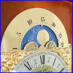 HERMLE Clock TRIPLE CHIME Mantel MOONPHASE Westminster Vintage SERVICED Germany