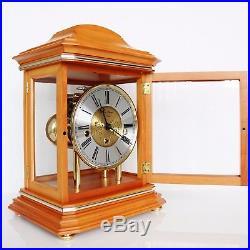 HERMLE MANTEL CLOCK DESIGN! WESTMINSTER Chime on BELLS! Skeleton TOP TRANSLUCENT